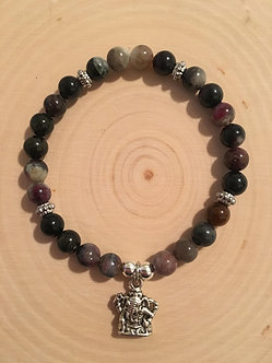 Overcoming Obstacles Crystal Bracelet