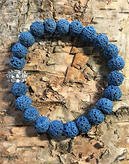 Lava Rock Truth Crystal Bracelet