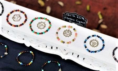 Chakra Crystal Bracelet Set(7)