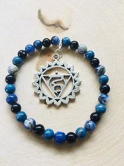 Throat Chakra Crystal Bracelet
