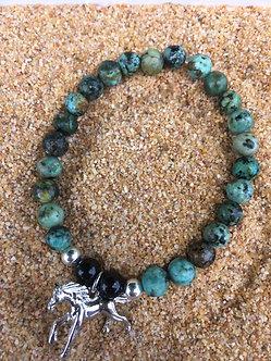 Horse Power Crystal Bracelet