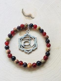 Sacral Chakra Crystal Bracelet