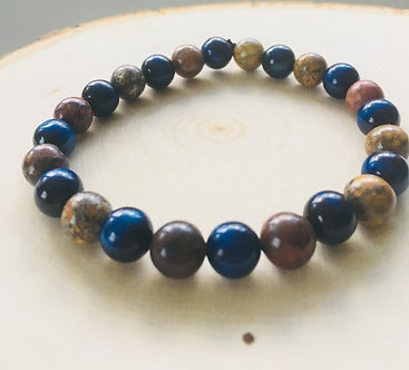 Shamanic Journey Crystal Bracelet