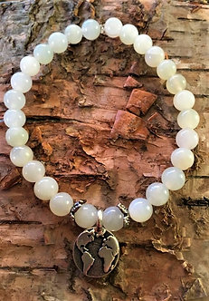 Jade Earth Crystal Bracelet