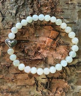 Jade Heart Crystal Bracelet