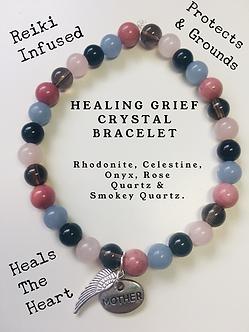 Healing Grief Crystal Bracelet