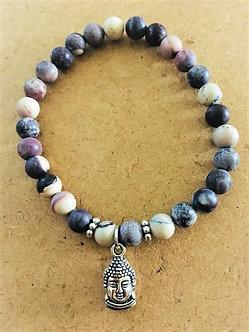 Royal Plume Jasper Crystal Bracelet RARE