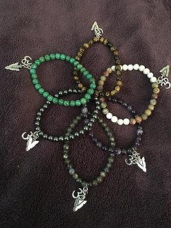 Yogi Warrior Crystal Bracelets (6)