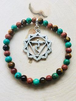 Solar Plexus Chakra Crystal Bracelet
