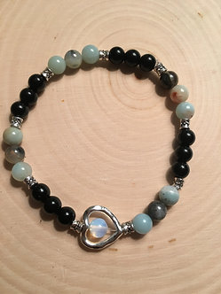 Protect Your Peace Crystal Bracelet