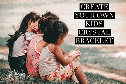 Create Your Own Crystal Bracelet-Kids