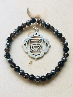 Root Chakra Crystal Bracelet