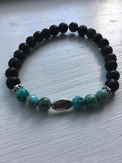 Hope for Change Crystal Bracelet