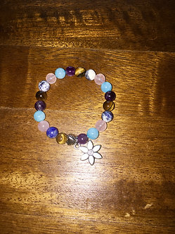 Kids Flower Crystal Bracelet