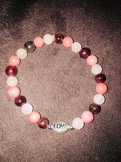 Love Yourself First Crystal Bracelet