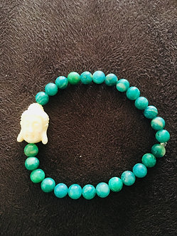 Russian Amazonite Crystal Bracelet