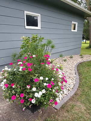 Custom Professional planters flowers