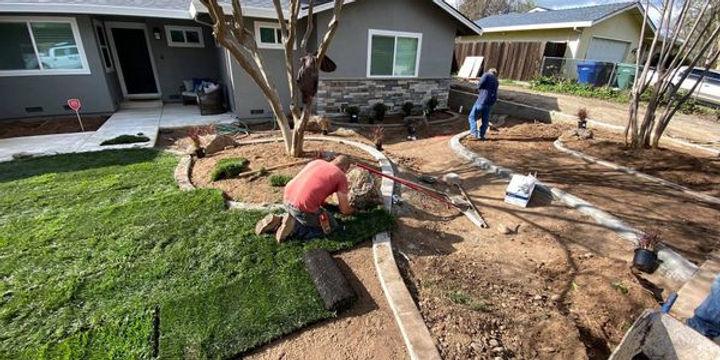 Landscape supplies. Landscape fabric. weed barrier. Decorative Rock. Mulch