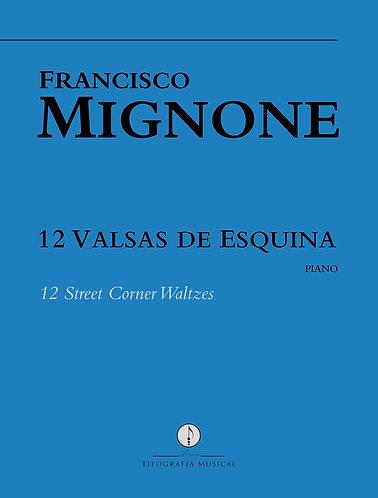 12 Valsas de Esquina (piano)