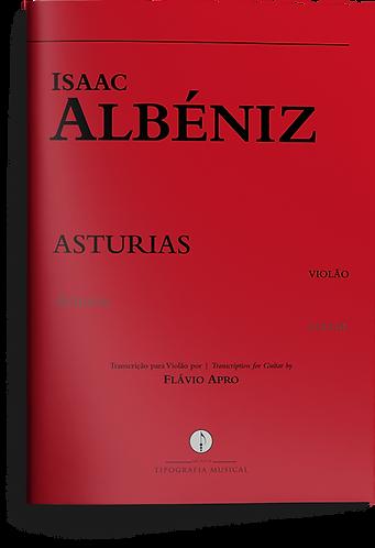 Asturias - Isaac Albéniz - transcrição para violão por Flávio Apro