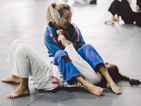 Il primo anno di jiu jitsu brasiliano per una donna