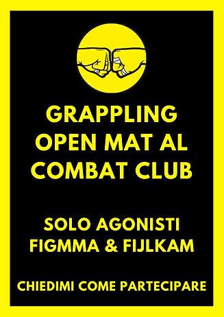 open mat solo agonisti figmma & fijlkam.