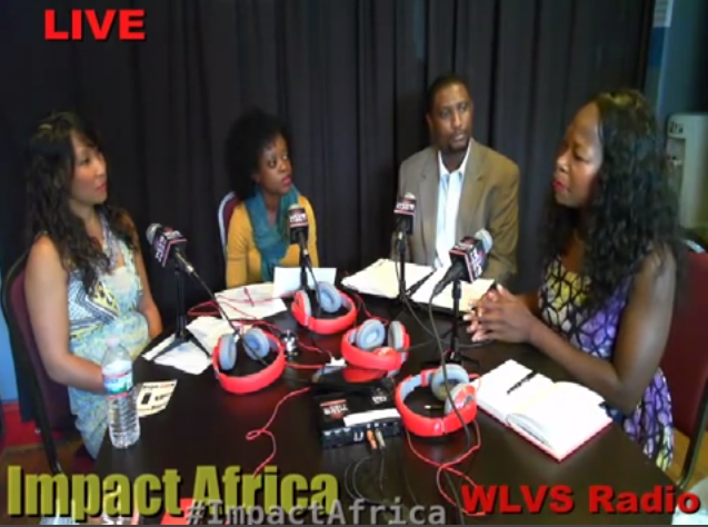 Guest Host on Impact Africa Show