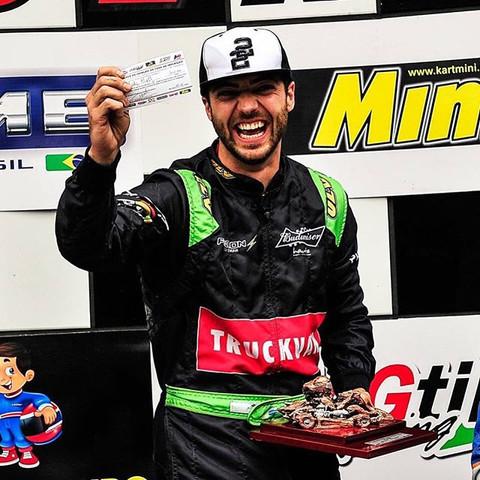 Yuri Alves vence duas corridas na 5ª etapa da Copa SP de Kart KGV conquistando a liderança da Copa R