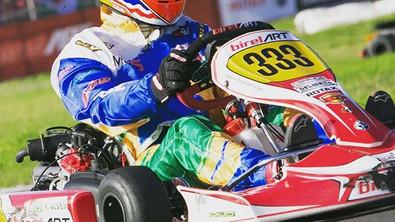 Yuri Alves conquista pódio na quarta etapa da Copa São Paulo de Kart na categoria Rotax DD2/ Masters