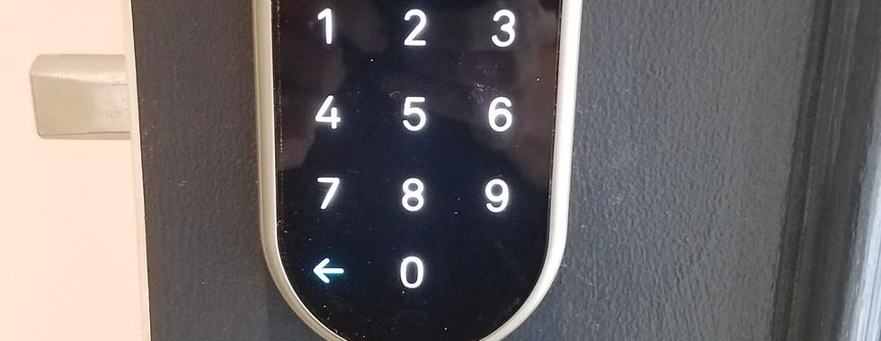 Front Door Smart Lock Install