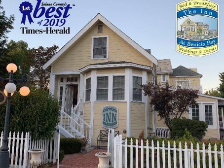 Best Bed & Breakfast Award!