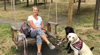Jill, Hearing Dogs for Deaf People volunteer trainer