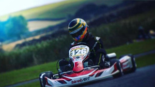 William, 15, elite level go-kart racer