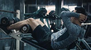 Asad, keen gym goer