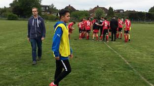 Alex, 14, keen footballer