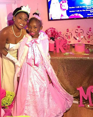 Princess Kimmy & Princess Tiana💕💕💕 #P