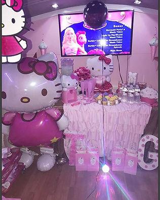 Kitty Spa party 😍💕🎉🎉🎉 #Hellokitty #
