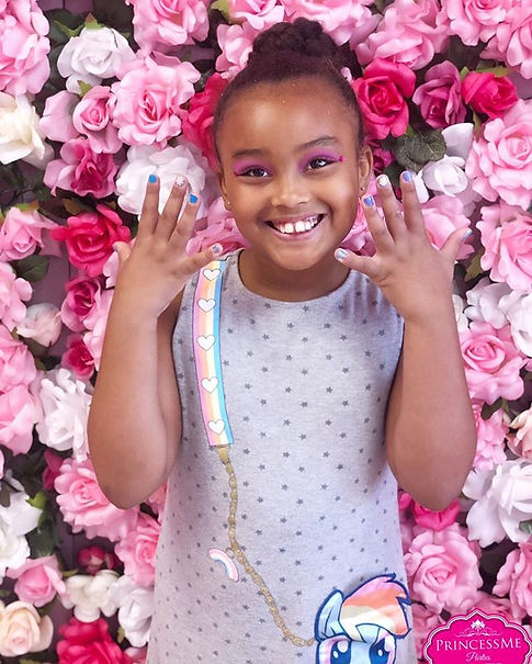 Cuteness overload💕 #princessme #kidsspa