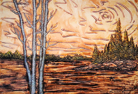 Landscape Kinmount Lake