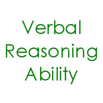 Verbal Reasoning Ability