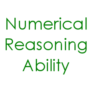Numerical Reasoning Ability