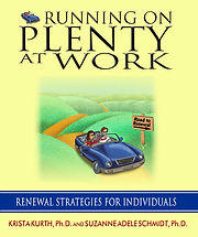 Cover image of Running on Plenty at Work book