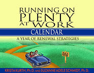 Cover image of Running on Plenty at Work calendar