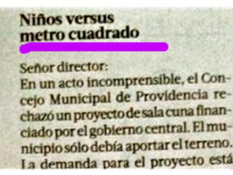 NIÑOS VERSUS UN METRO CUADRADO (*)