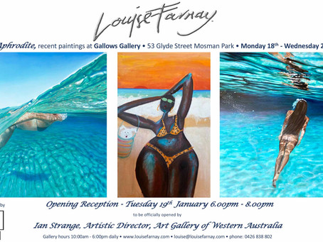 Exhibition 'Aphrodite' at Gallows Gallery, Perth