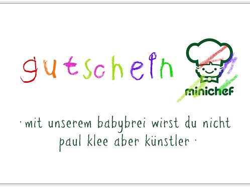 Minichef Gutschein 100.-