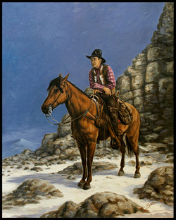 Harry ( 2013 - 24 x 30 Oil On Linen Canvas )
