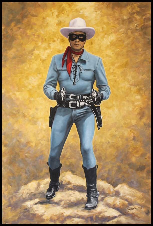 Lone Ranger No. 2 ( 2013 - 24 x 36 Oil On Linen Canvas )