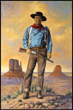 The Duke ( 2013 - 24 x 36 Oil On Linen Canvas )