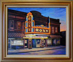 The Roxy ( 2009 - 30 x 24 Oil On Canvas )